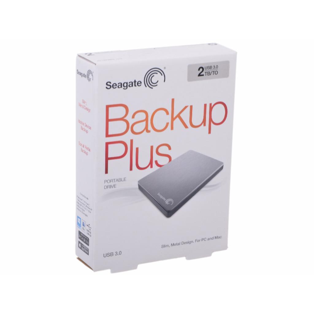 """Внешний жесткий диск 2.5"""" 2TB Seagate (STDR2000201) изображение 7"""