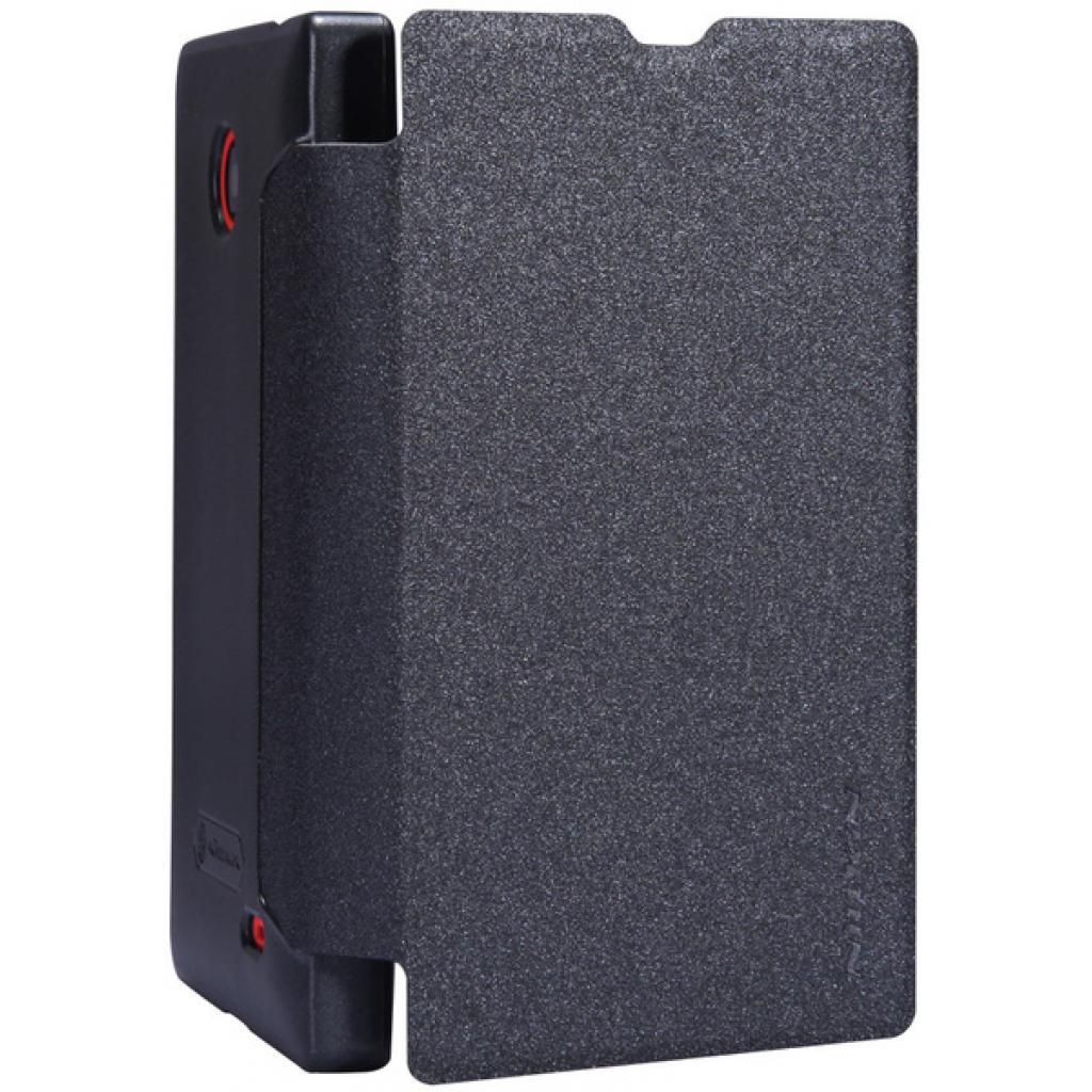Чехол для моб. телефона NILLKIN для Nokia X /Spark/ Leather/Black (6147153) изображение 2