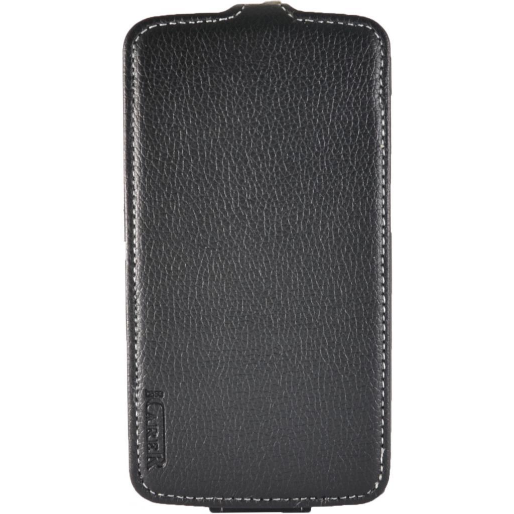 Чехол для моб. телефона Carer Base Huawei Ascend G730 black (Carer Base Huawei G730)