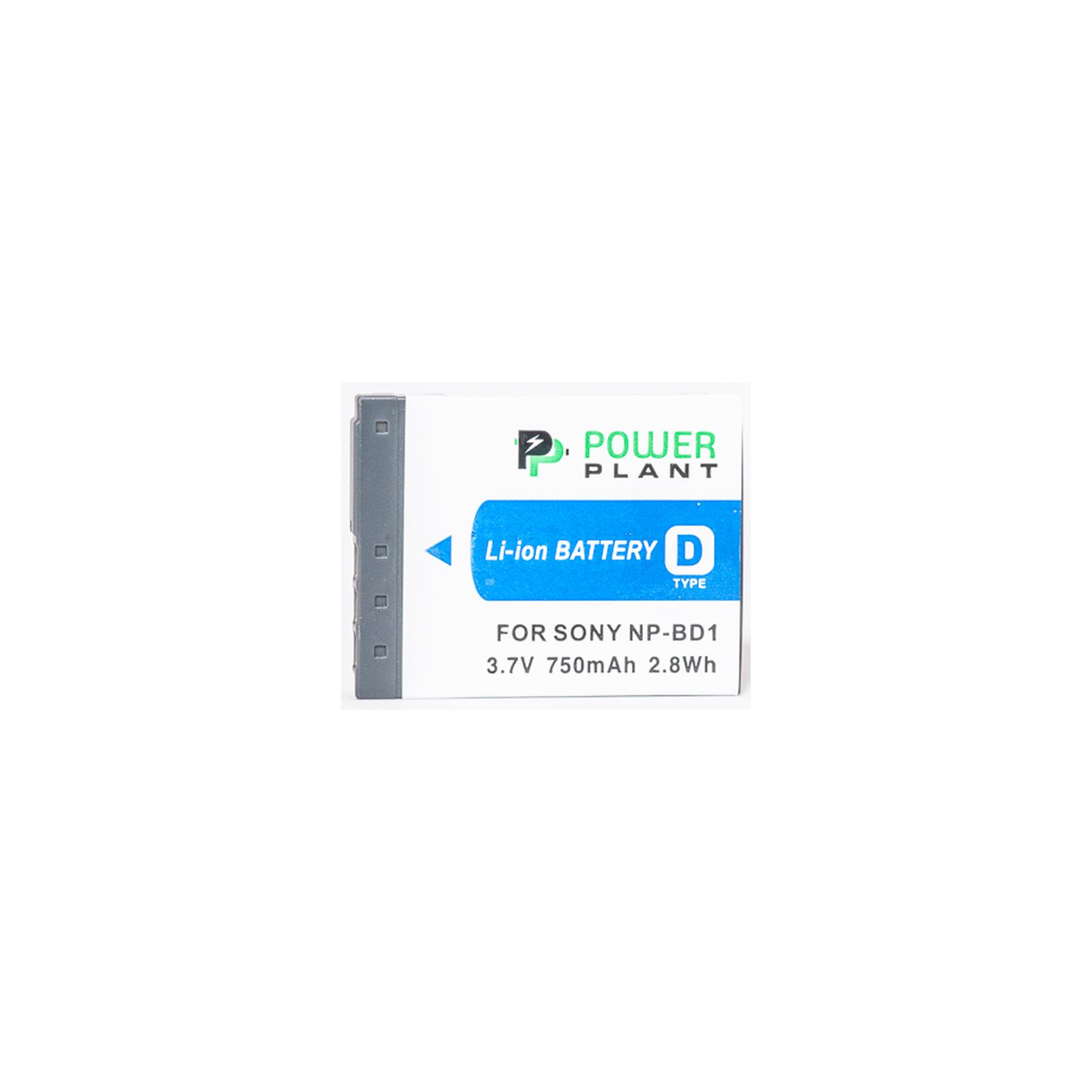 Аккумулятор к фото/видео PowerPlant Sony NP-BD1, NP-FD1 (DV00DV1204) изображение 2