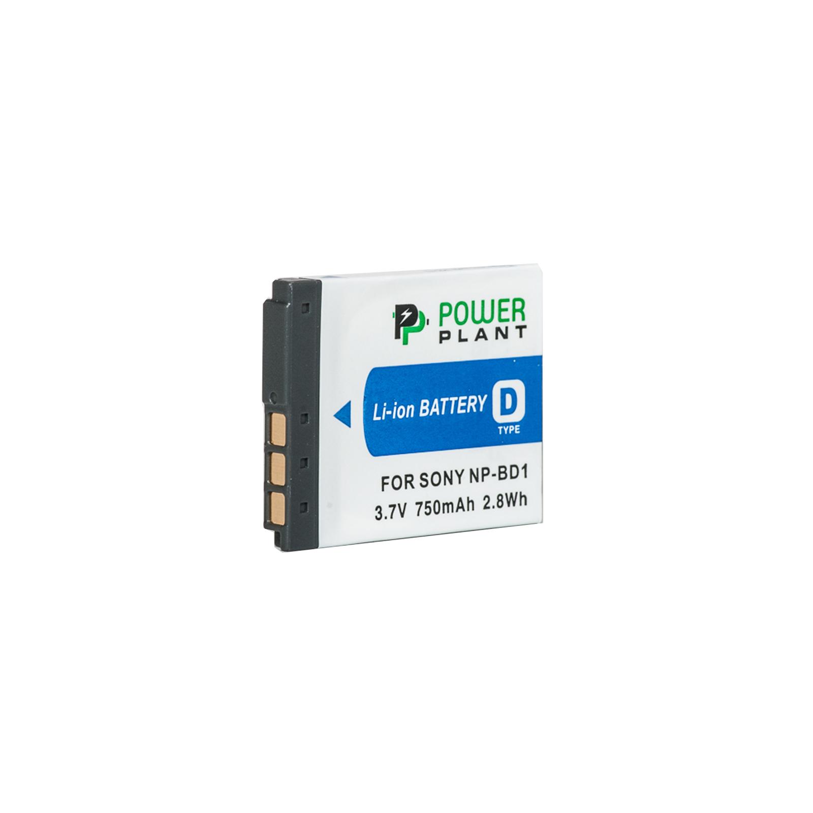 Аккумулятор к фото/видео PowerPlant Sony NP-BD1, NP-FD1 (DV00DV1204)