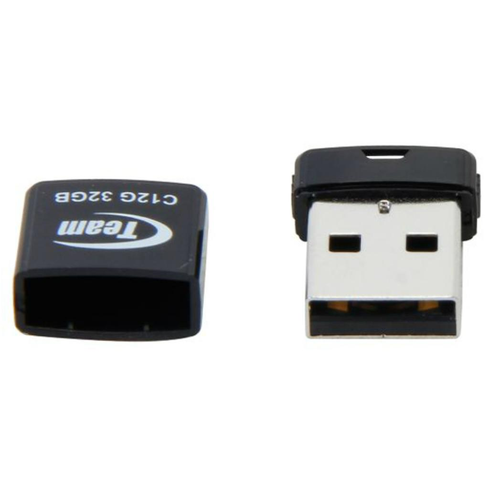 USB флеш накопитель Team 32GB C12G Black USB 2.0 (TC12G32GB01) изображение 4
