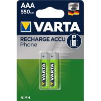 Аккумулятор Varta AAA Phone ACCU 550mAh NI-MH * 2 (58397101402)
