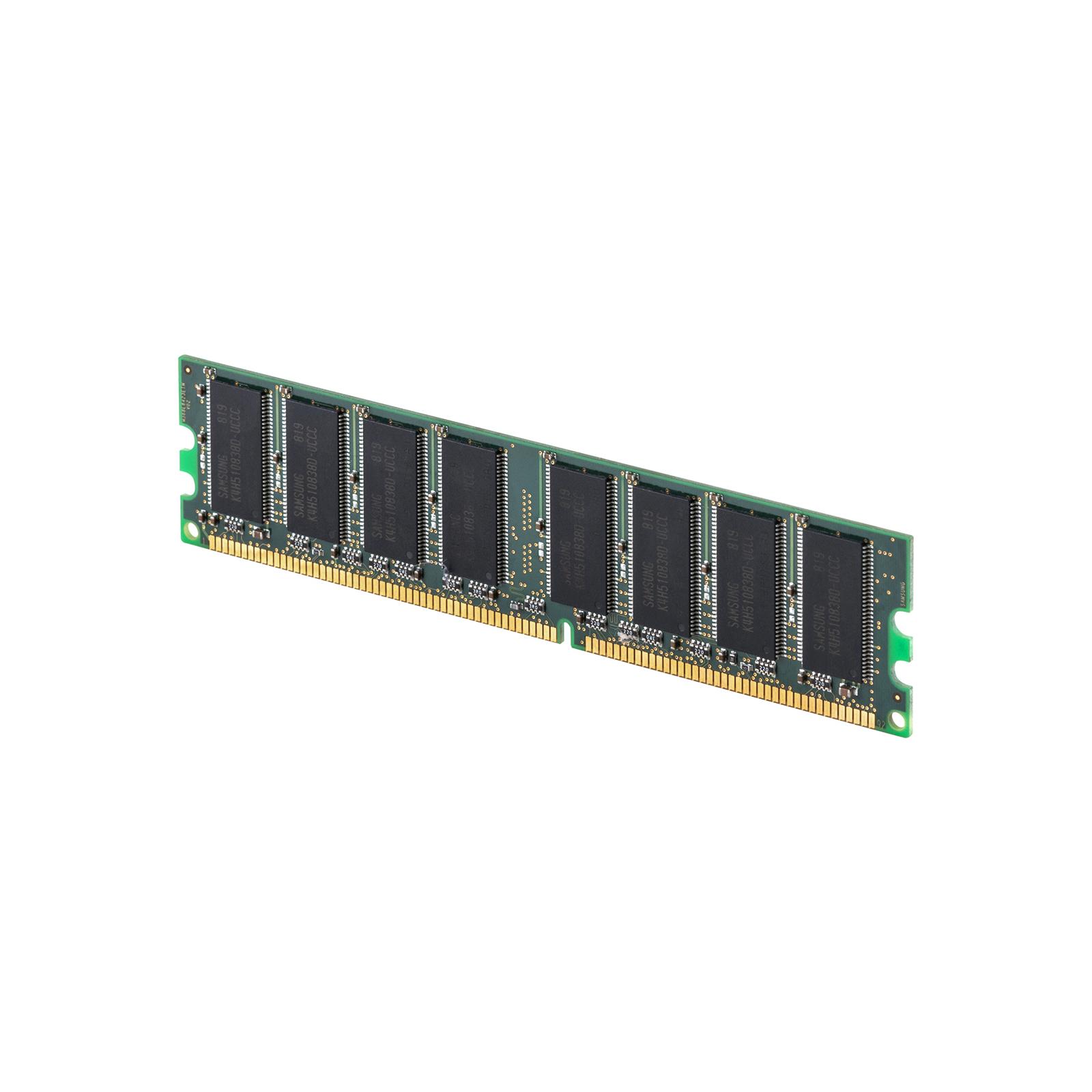 Модуль памяти для компьютера DDR 1GB 400 MHz Samsung (SAMD7AUDR-50M48) изображение 3