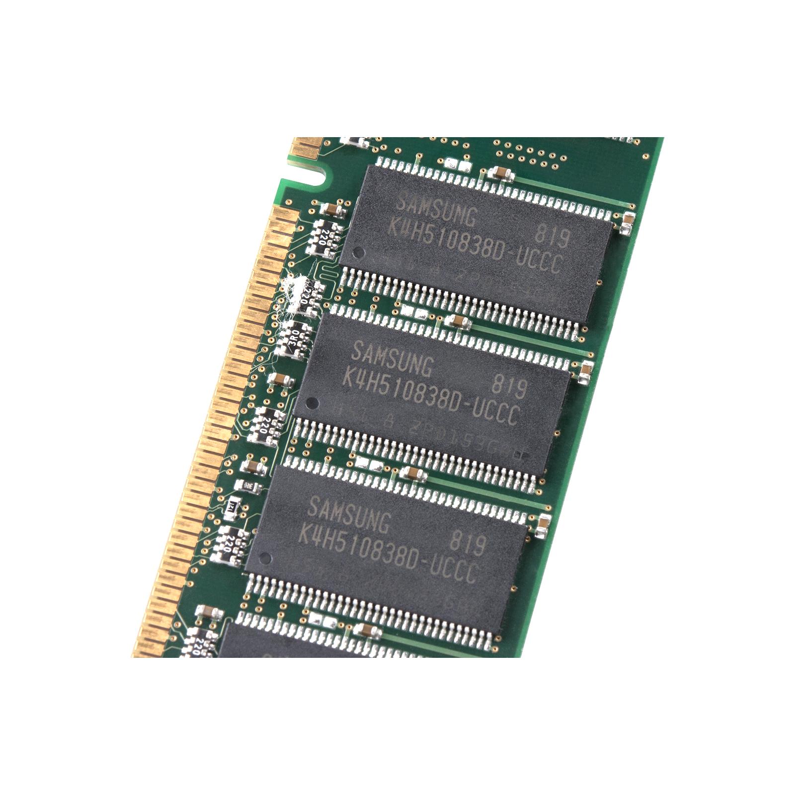 Модуль памяти для компьютера DDR 1GB 400 MHz Samsung (SAMD7AUDR-50M48) изображение 4