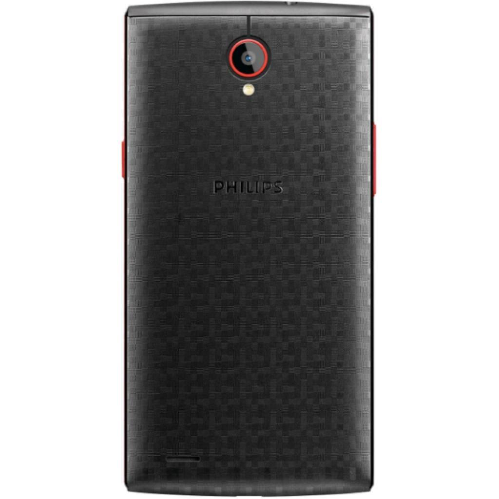 Мобильный телефон PHILIPS S337 Black Red (8712581736538) изображение 2
