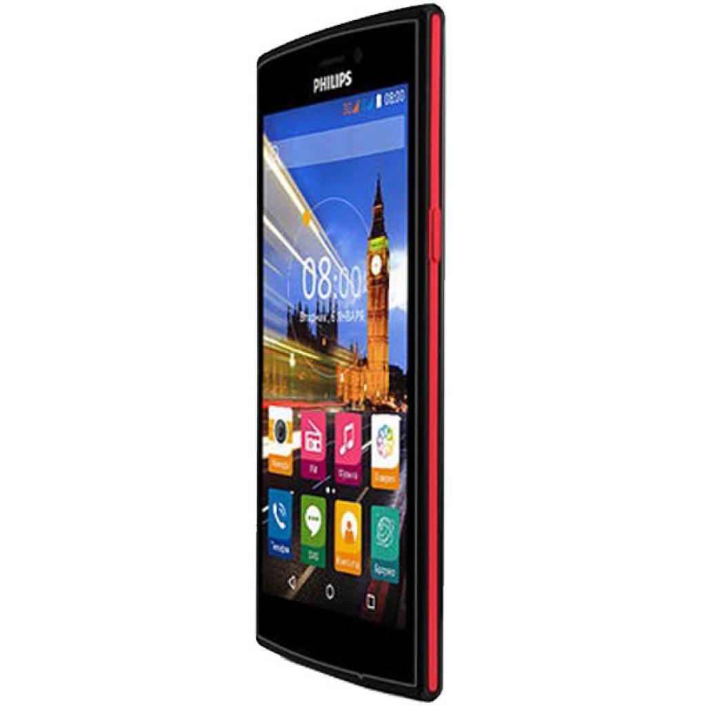 Мобильный телефон PHILIPS S337 Black Red (8712581736538) изображение 4
