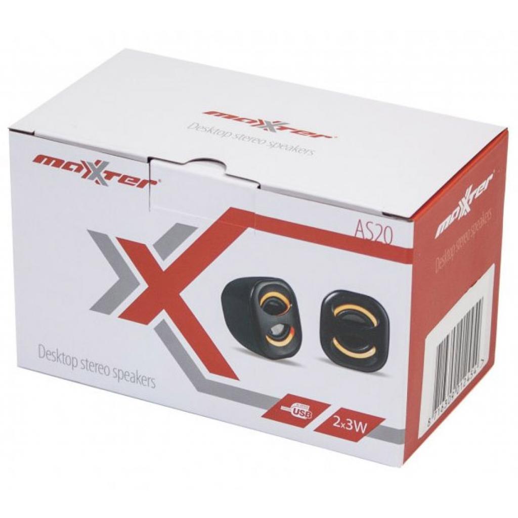 Акустическая система Maxxter AS20B изображение 2