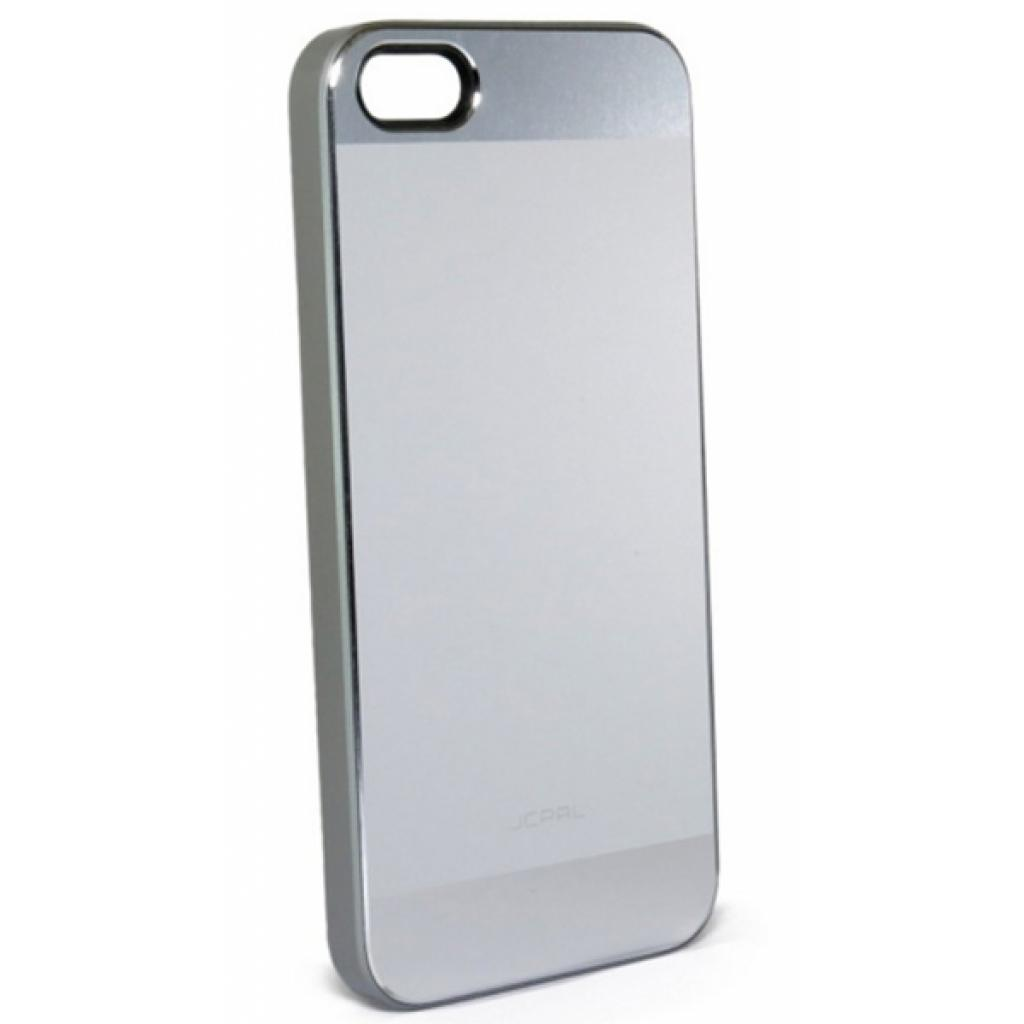 Чехол для моб. телефона JCPAL Aluminium для iPhone 5S/5 (Matte touch-Silver) (JCP3112)