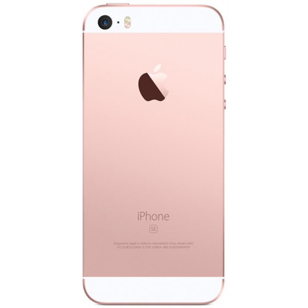 Мобильный телефон Apple iPhone SE 16Gb Rose Gold (MLXN2RK/A/MLXN2UA/A) изображение 2