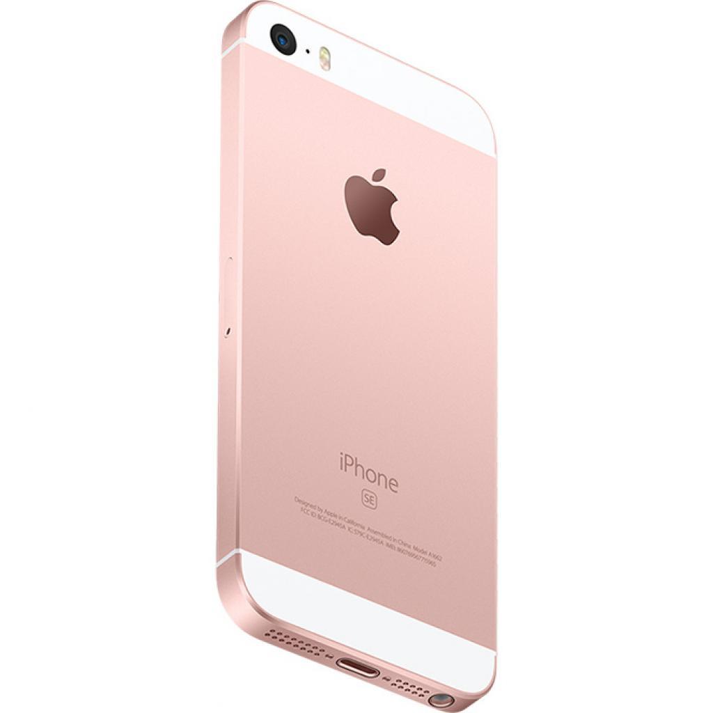 Мобильный телефон Apple iPhone SE 16Gb Rose Gold (MLXN2RK/A/MLXN2UA/A) изображение 4