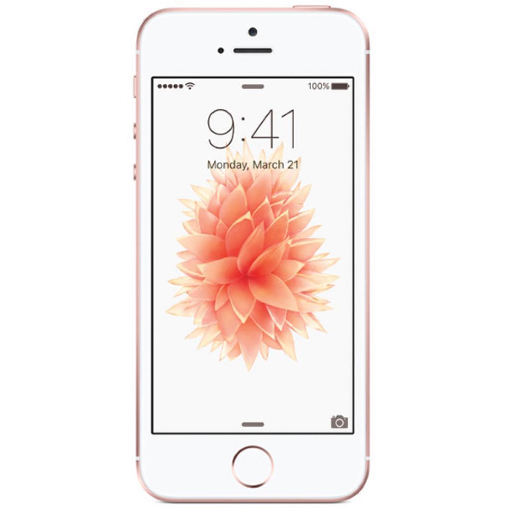Мобильный телефон Apple iPhone SE 16Gb Rose Gold (MLXN2RK/A/MLXN2UA/A)