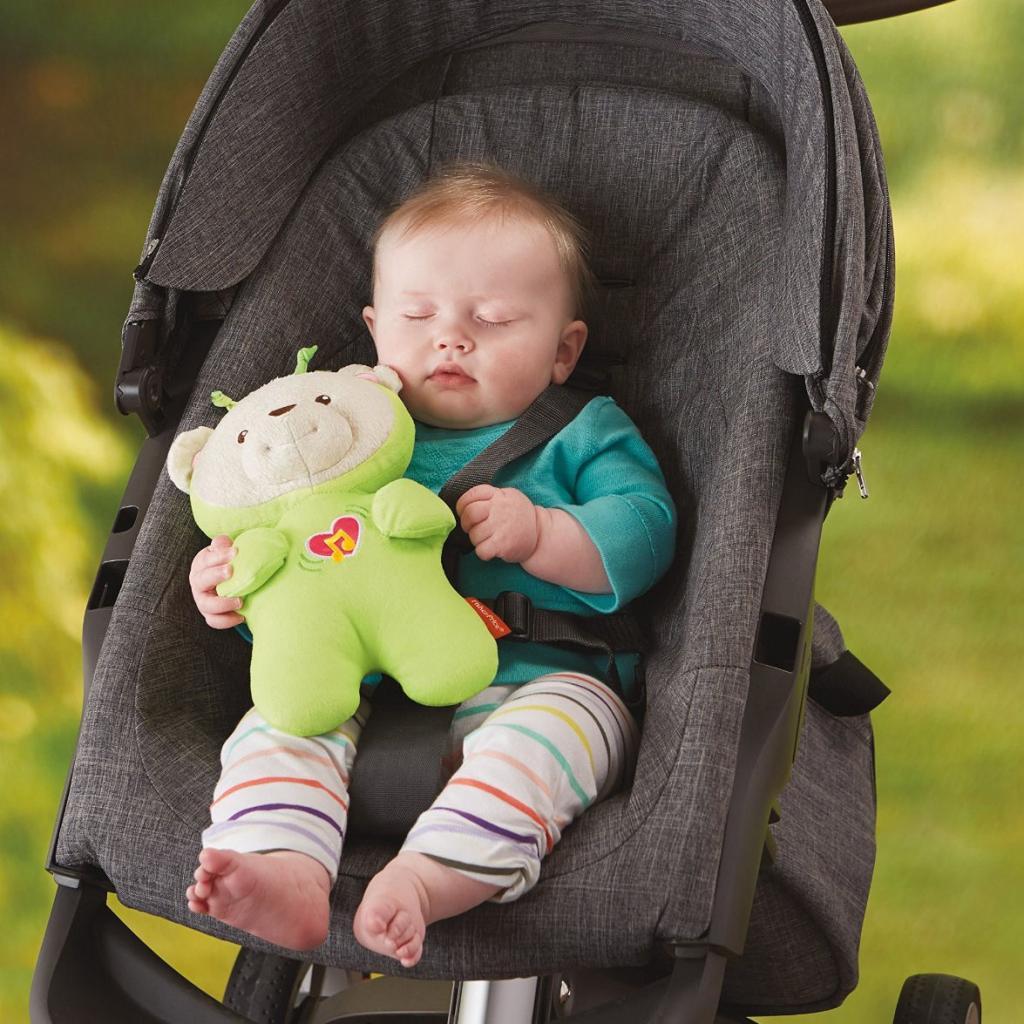 Развивающая игрушка Fisher-Price Плюшевый мишка Сон бабочки (DFP20) изображение 6