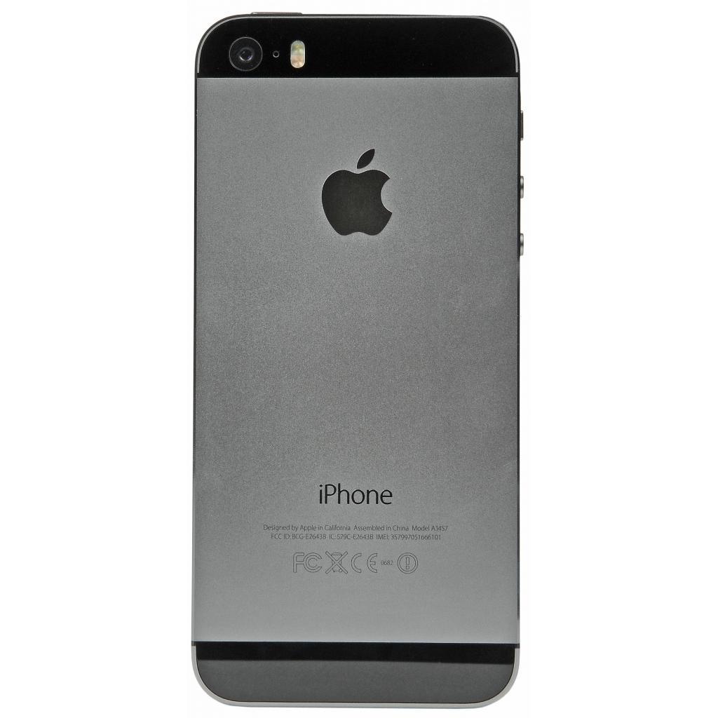 Мобильный телефон Apple iPhone 5S 16Gb Space Grey Original factory refurbished (FE432UA/A) изображение 2