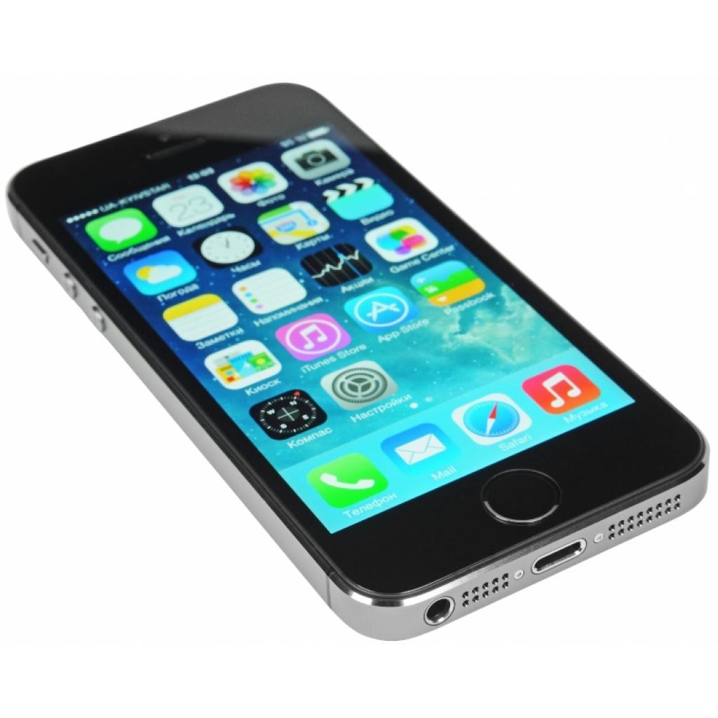 Мобильный телефон Apple iPhone 5S 16Gb Space Grey Original factory refurbished (FE432UA/A) изображение 3