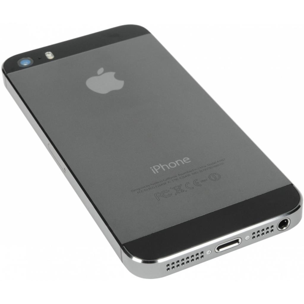 Мобильный телефон Apple iPhone 5S 16Gb Space Grey Original factory refurbished (FE432UA/A) изображение 4