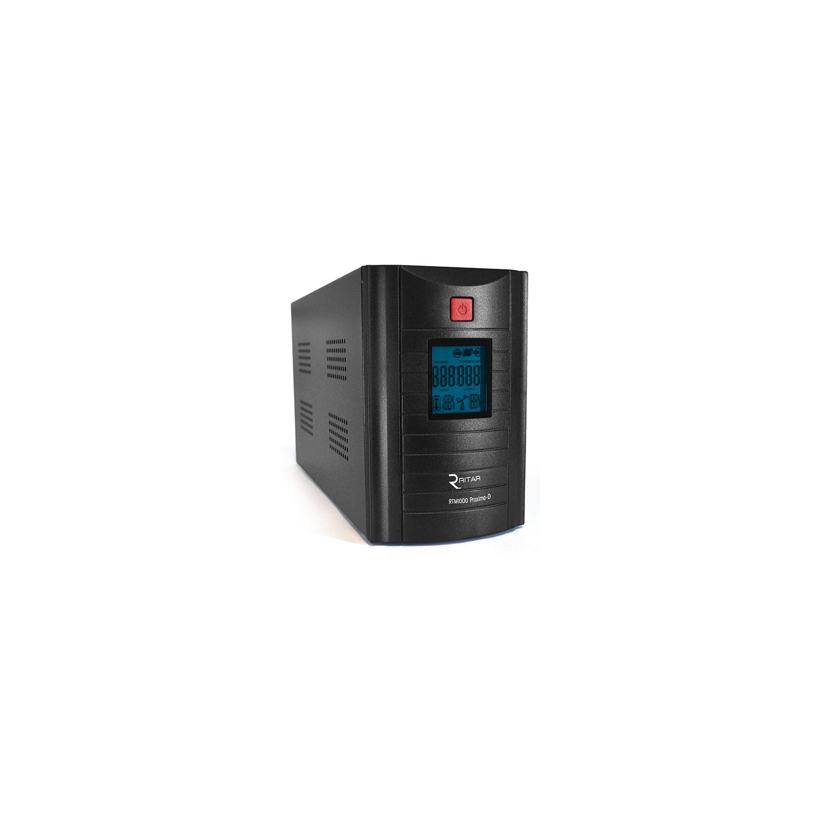 Источник бесперебойного питания Ritar RTM1000 (600W) Proxima-D (RTM1000D)