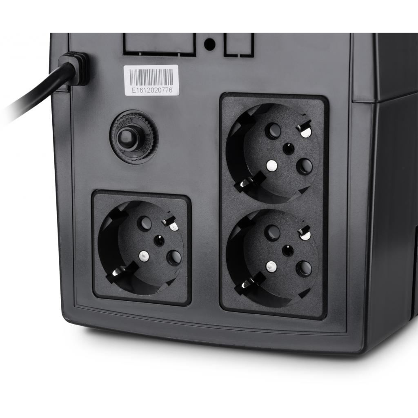 Источник бесперебойного питания Vinga LCD 1200VA plastic case (VPC-1200P) изображение 5