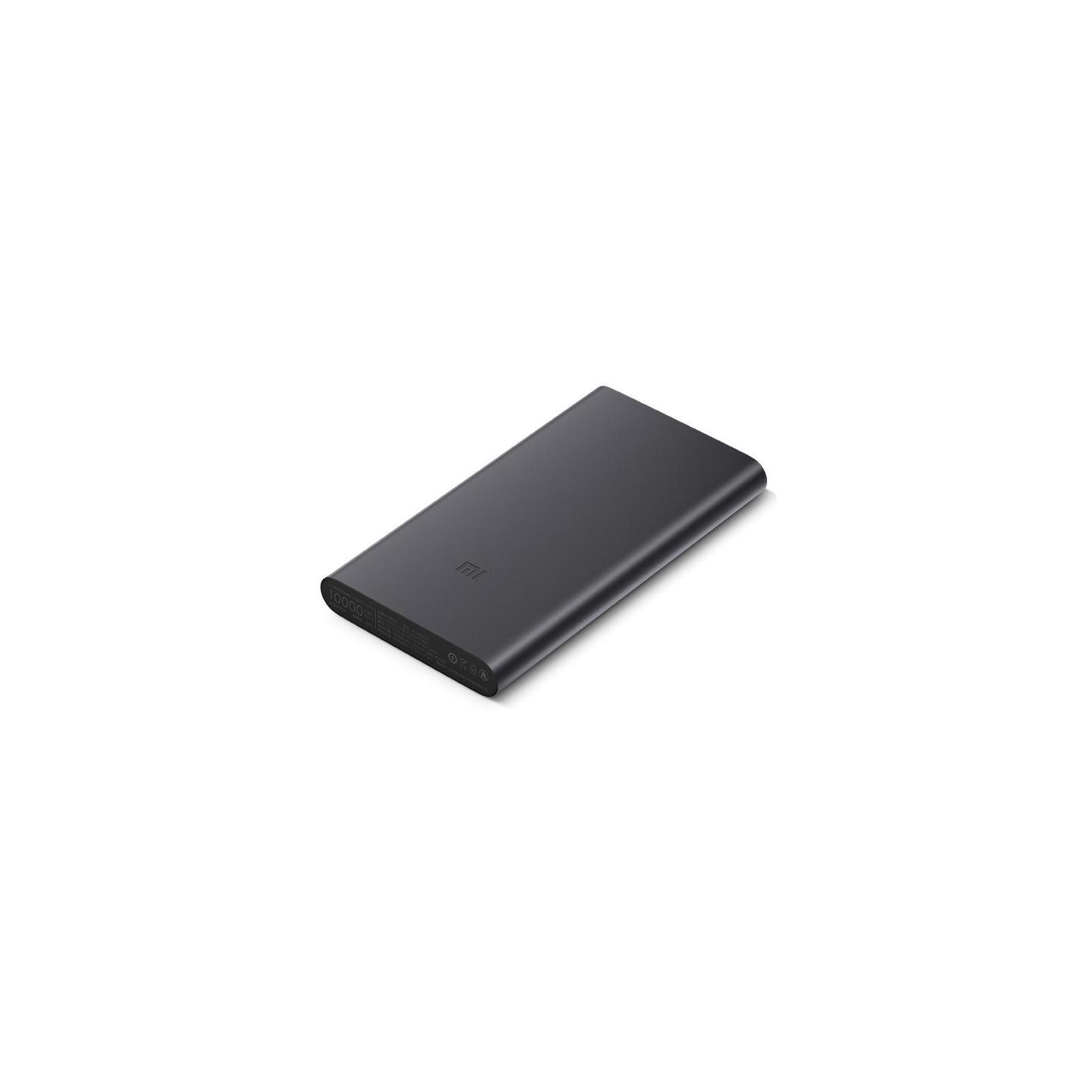 Батарея универсальная Xiaomi Mi Power Bank 2S 10000 mAh QC2.0(2.4A,2USB) (PLM09ZM) Black (VXN4229CN / VXN4230GL) изображение 2