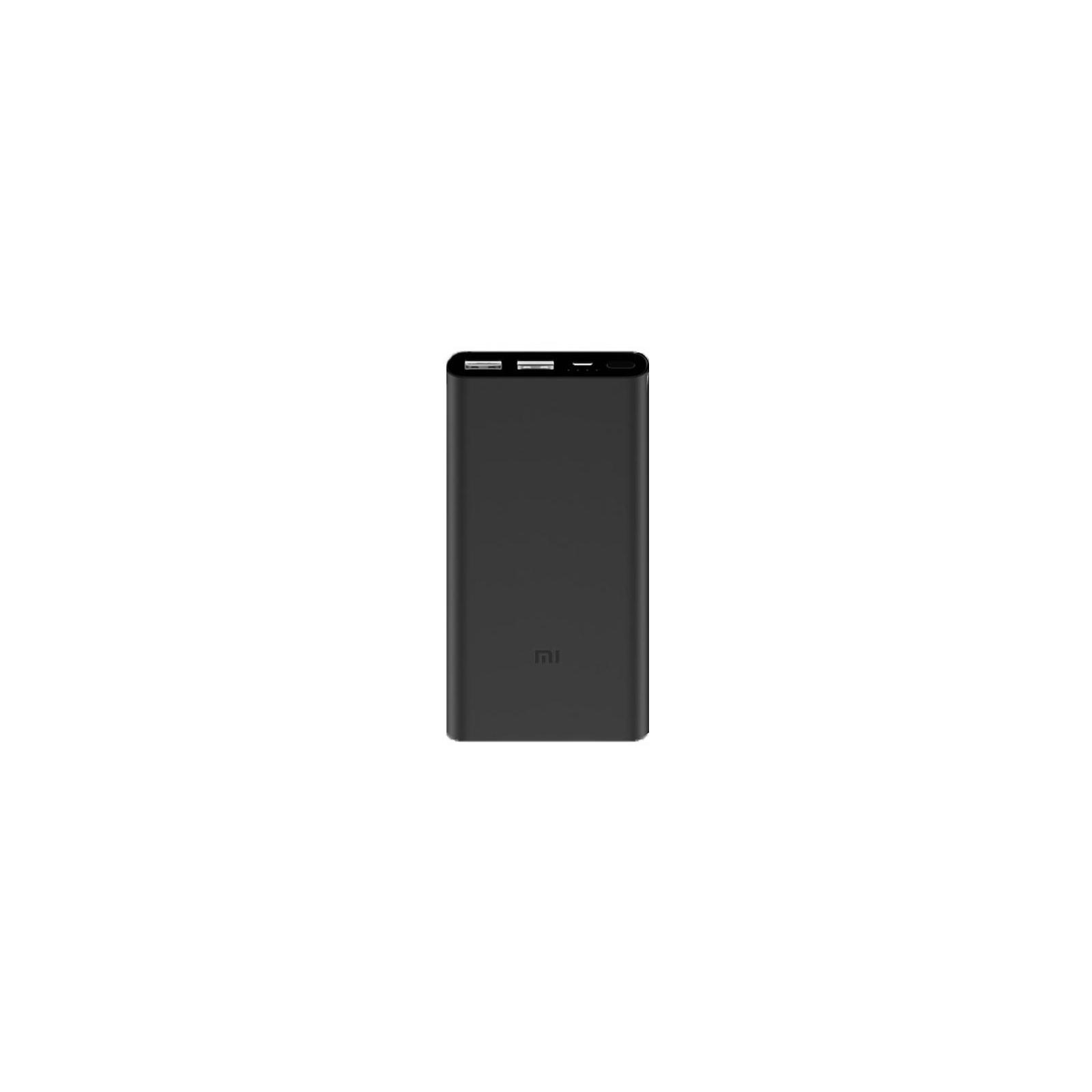 Батарея универсальная Xiaomi Mi Power Bank 2S 10000 mAh QC2.0(2.4A,2USB) (PLM09ZM) Black (VXN4229CN / VXN4230GL)