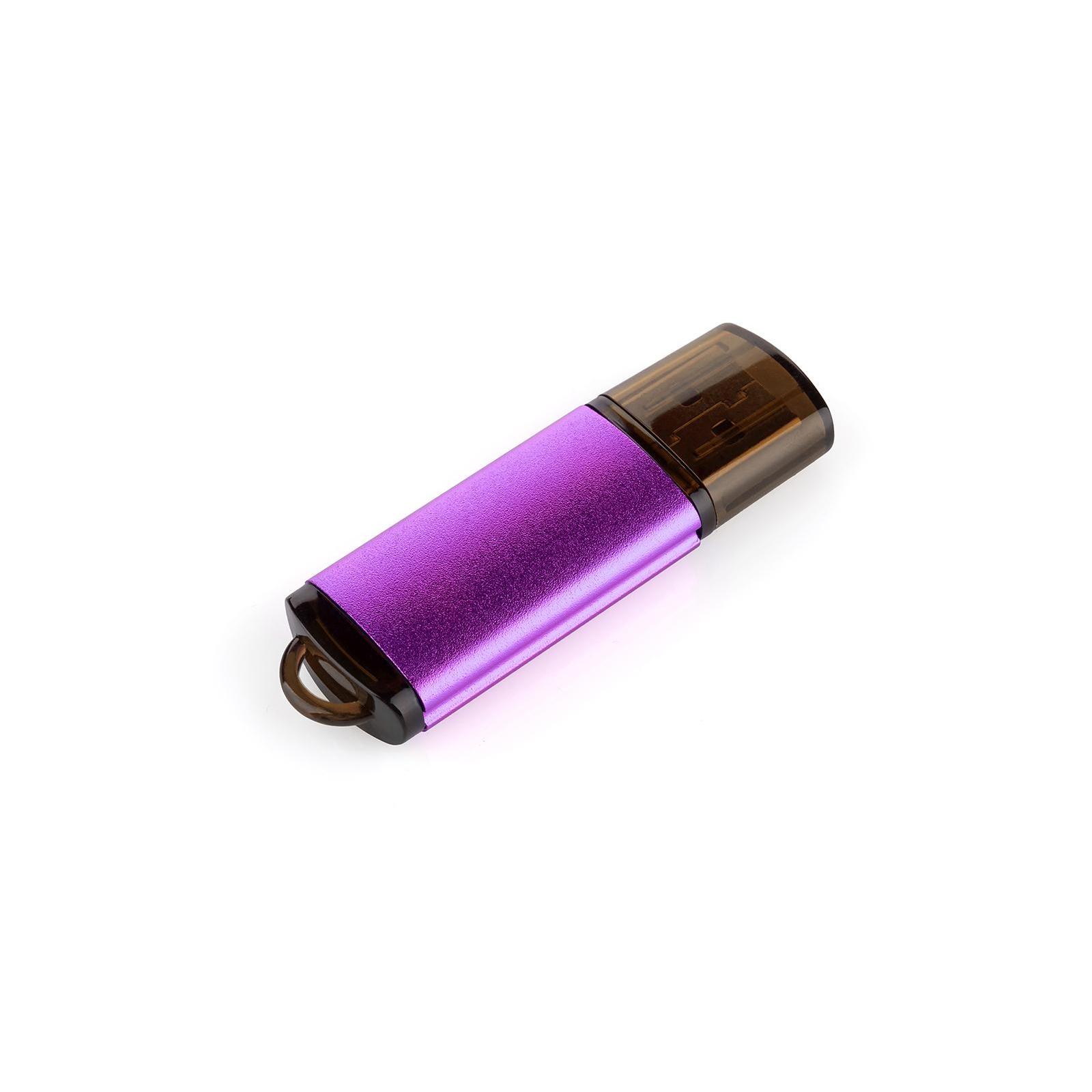 USB флеш накопитель eXceleram 64GB A3 Series Purple USB 2.0 (EXA3U2PU64) изображение 2