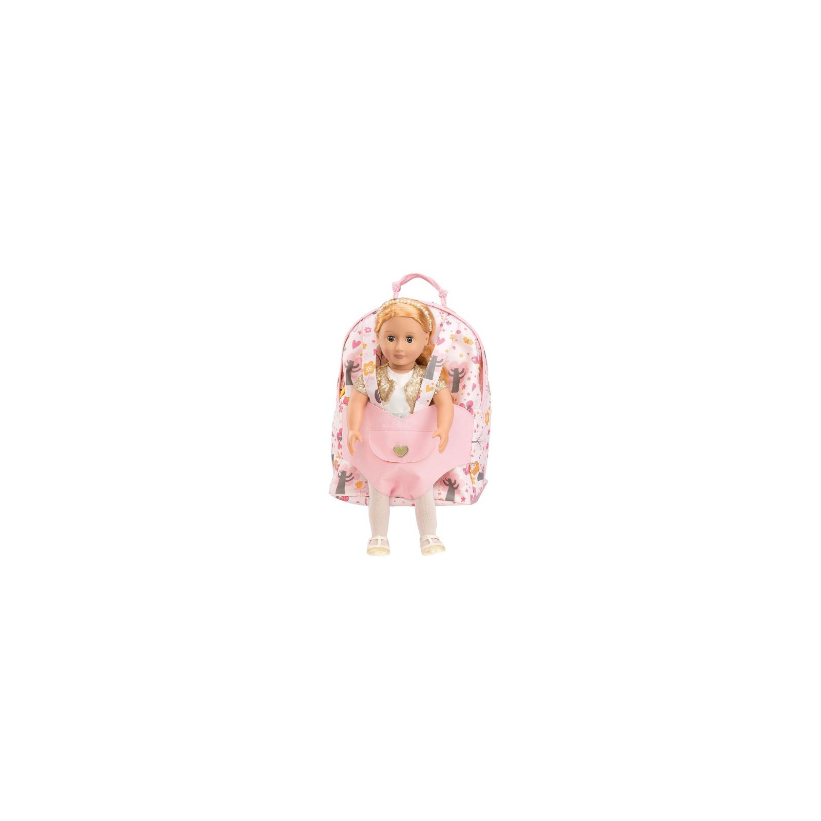 Аксесуар до ляльки Our Generation Рюкзак розовый (BD37237Z) зображення 2