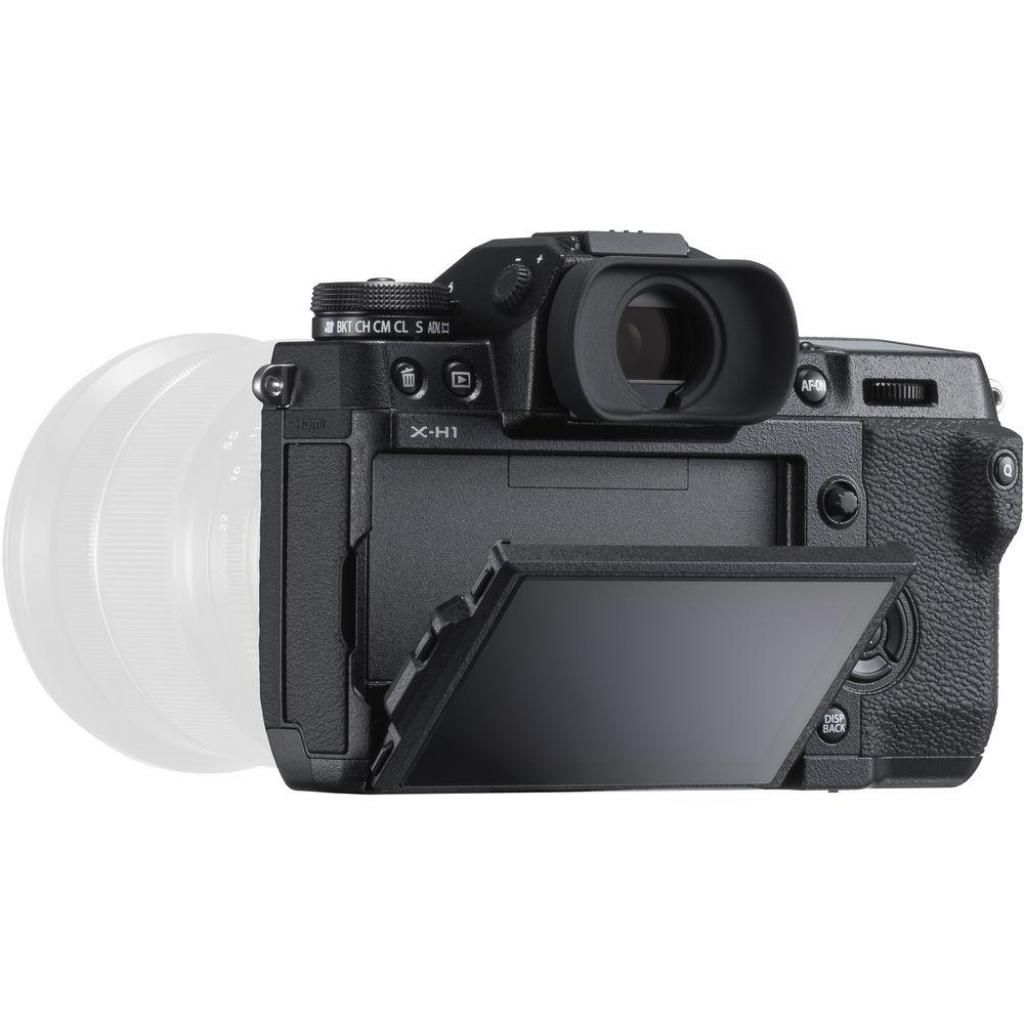 Цифровой фотоаппарат Fujifilm X-H1 body Black (16568743) изображение 4