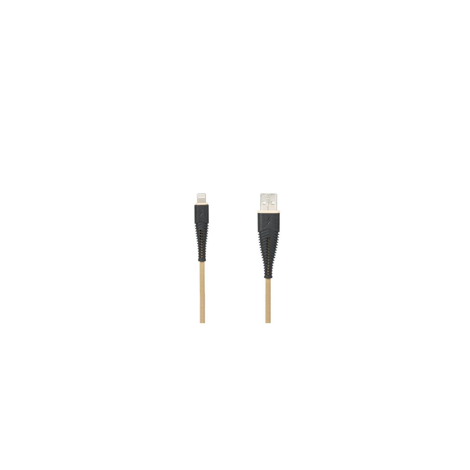 Дата кабель USB 2.0 AM to Lightning Pro Amaze 2A Gold Gelius (65128)