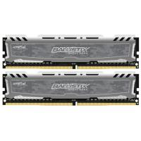 Модуль памяти для компьютера DDR4 16GB (2x8GB) 2666 MHz Ballistix Sport MICRON (BLS2K8G4D26BFSBK)