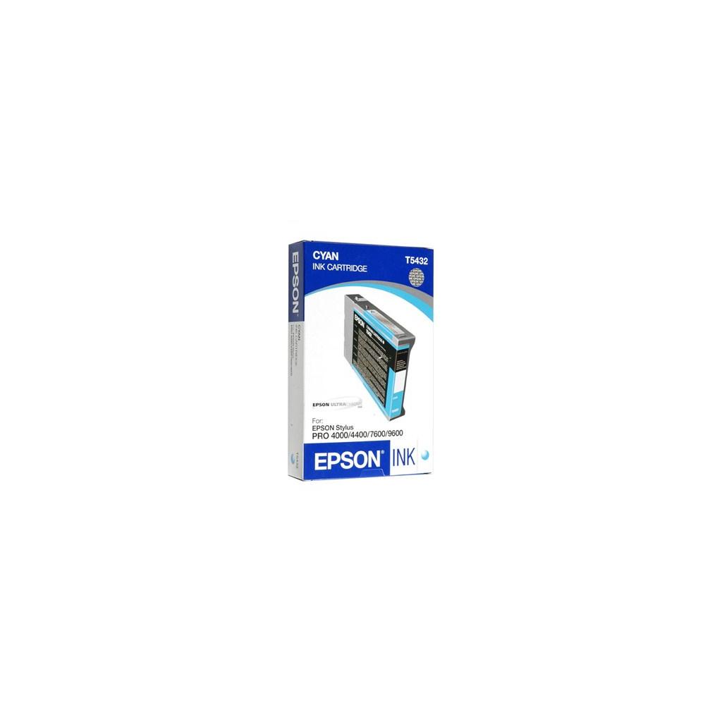 Картридж EPSON St Pro 4000/4400/7600/9600 cyan (C13T543200)