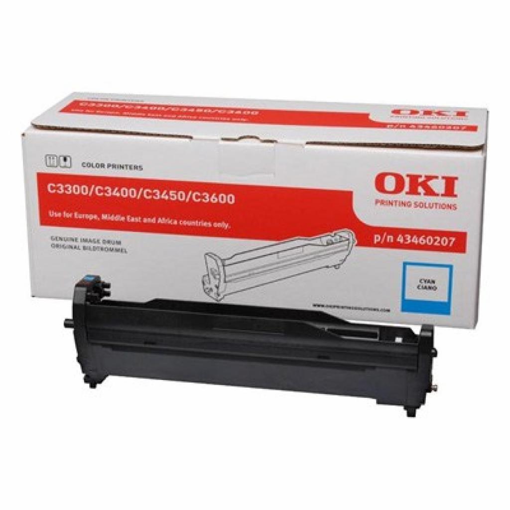 Фотокондуктор OKI C3300/3400/C3450/C3600 Cyan (43460207)