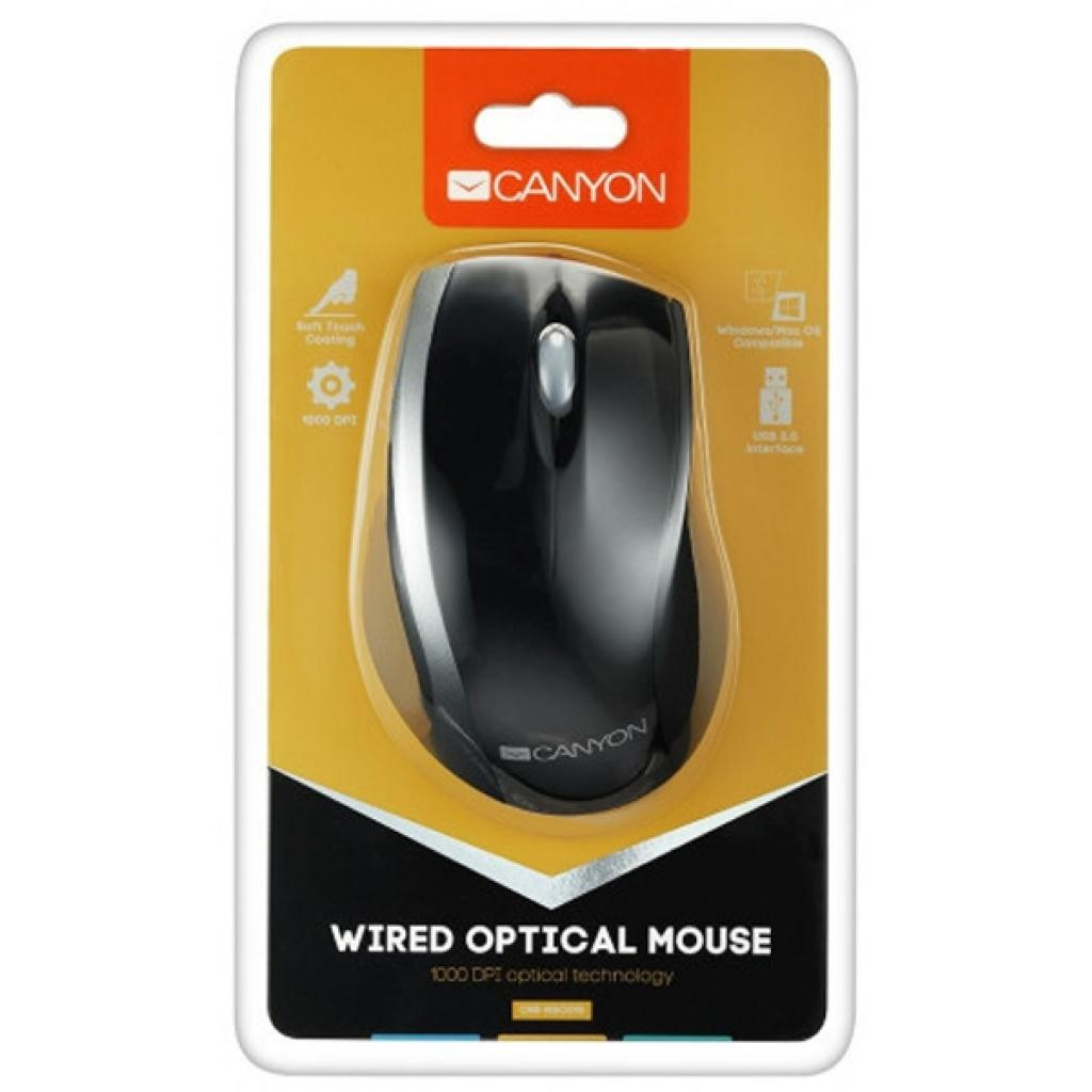 Мышка Canyon CNR-MSO01NG изображение 4