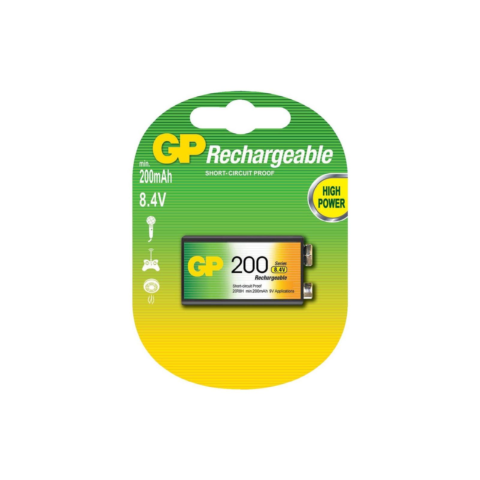Аккумулятор Крона GP 200mAh * 1 GP (20R8H-U1)