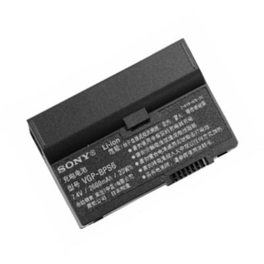 Аккумулятор для ноутбука SONY VGP-BPS6 VAIO VGN-UXr (VGP-BPS6 O 26)