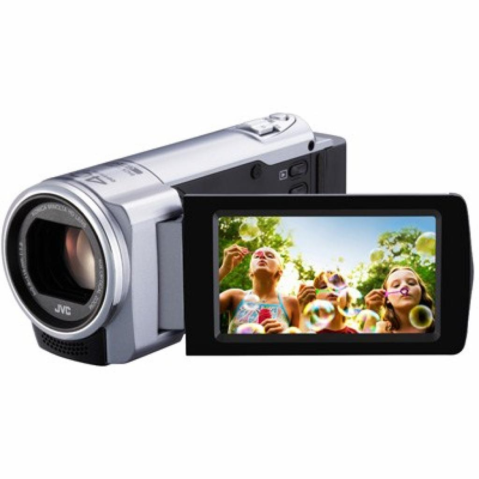 Цифровая видеокамера JVC Everio GZ-E10SEU silver (GZ-E10SEU) изображение 3