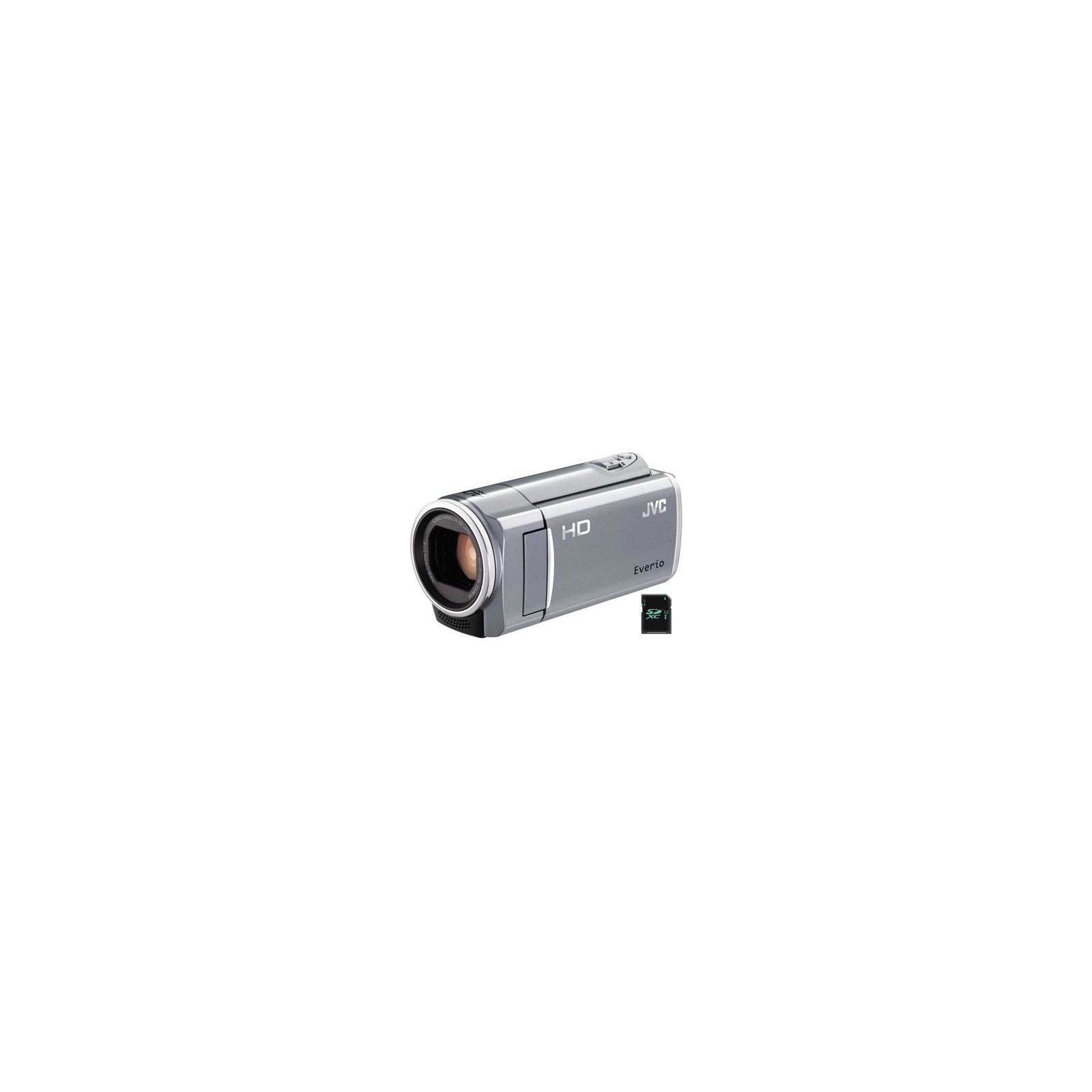 Цифровая видеокамера JVC Everio GZ-E10SEU silver (GZ-E10SEU)