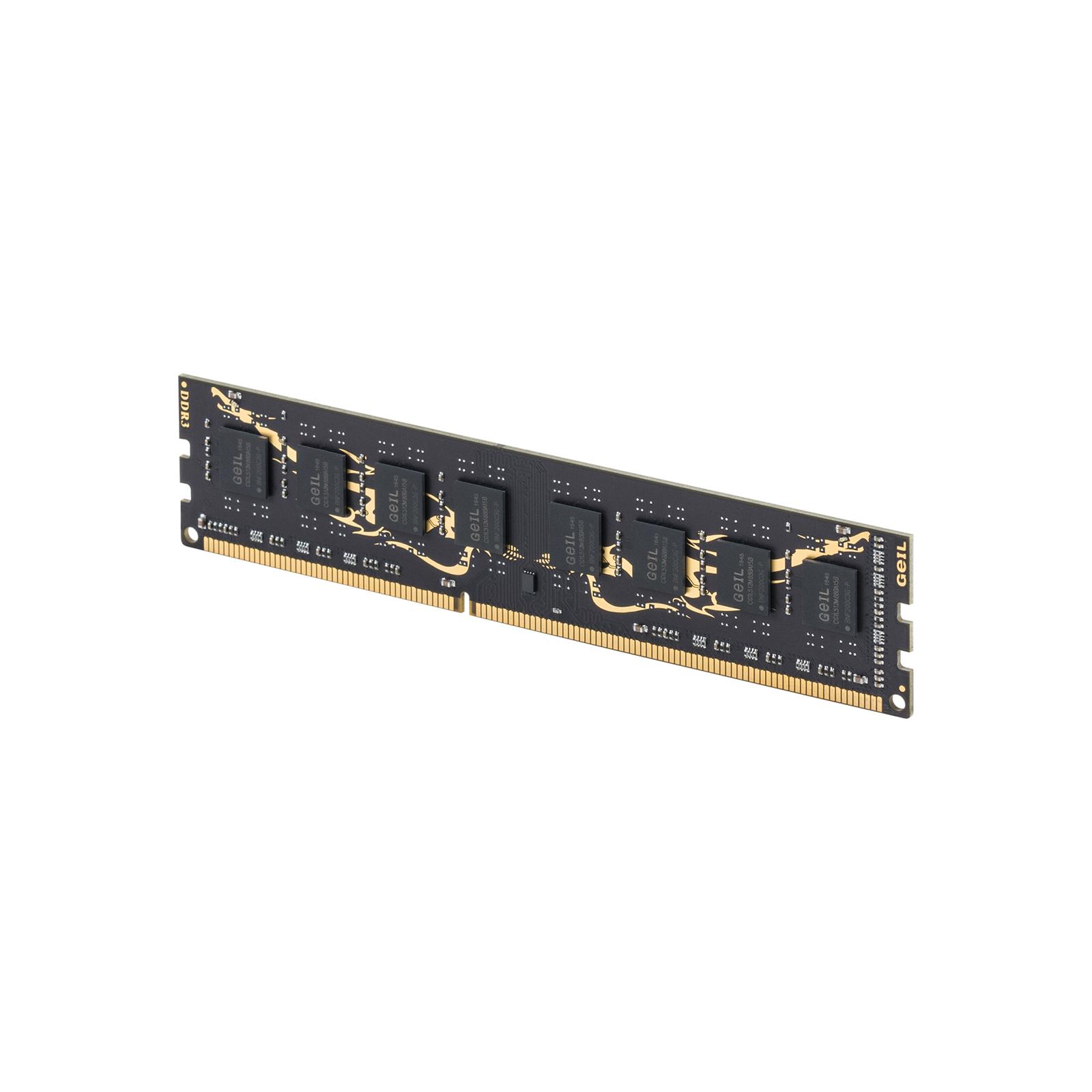 Модуль памяти для компьютера DDR3 16GB (2x8GB) 1600 MHz GEIL (GD316GB1600C11DC) изображение 3