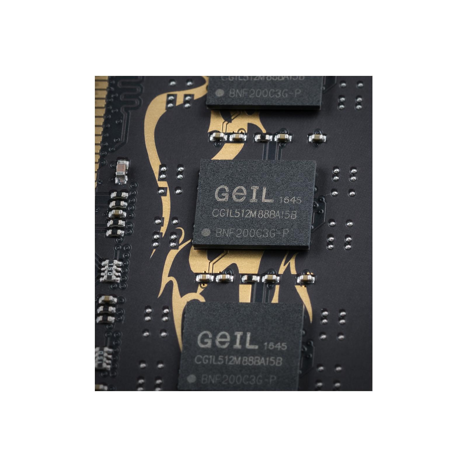 Модуль памяти для компьютера DDR3 16GB (2x8GB) 1600 MHz GEIL (GD316GB1600C11DC) изображение 4