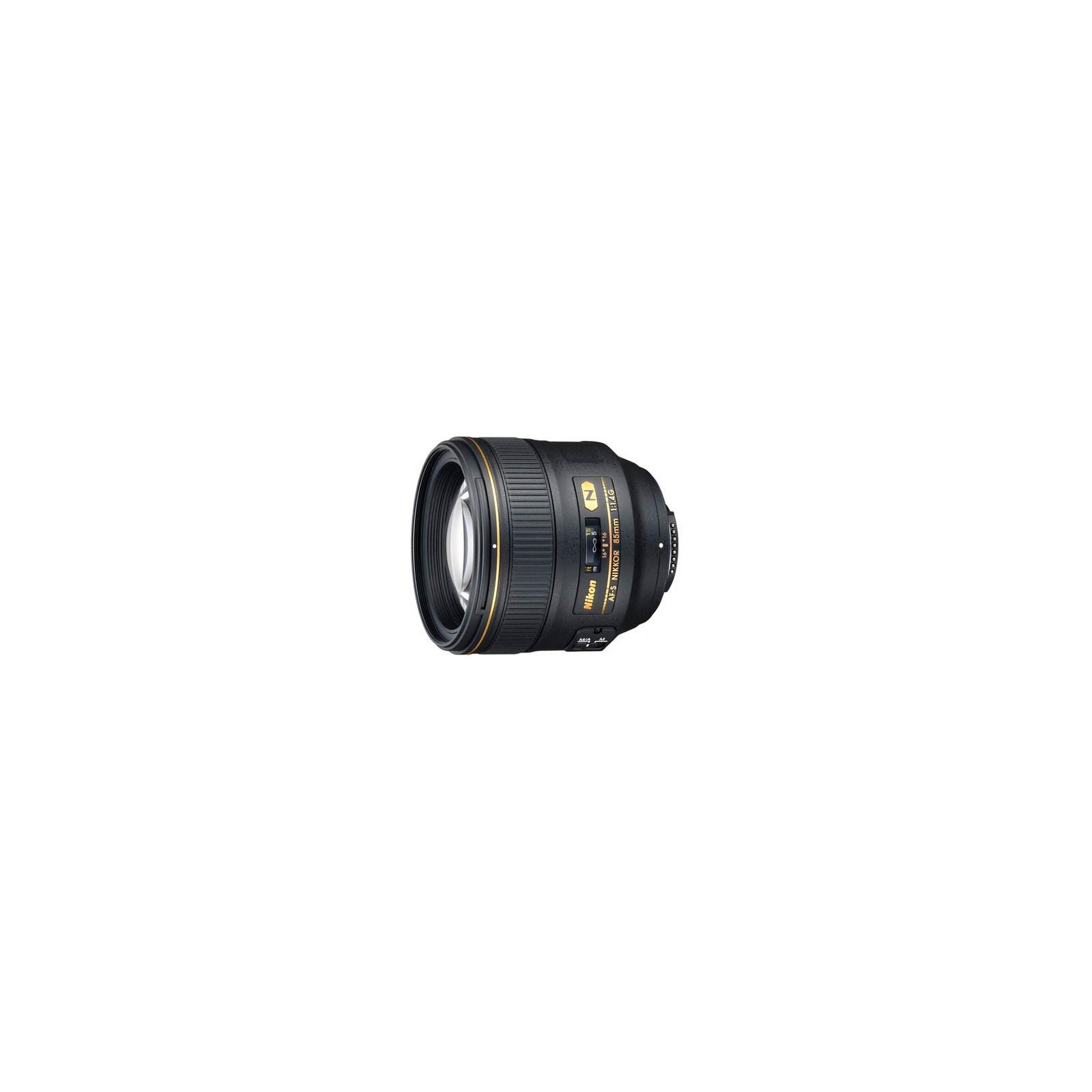Объектив Nikon Nikkor AF-S 85mm f/1.4G (JAA338DA)