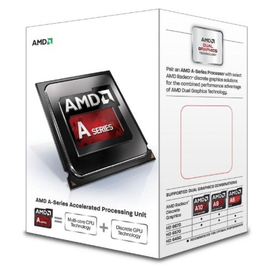 Процессор AMD A8-6500 X4 (AD650TYHHLBOX)
