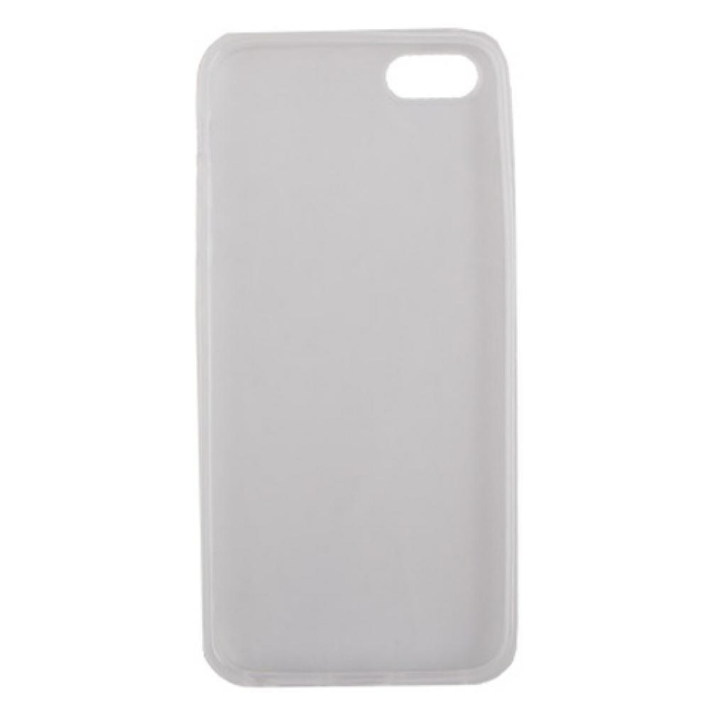 Чехол для моб. телефона Drobak для Apple Iphone 5 /ElasticPU/WhiteClear (210255) изображение 2
