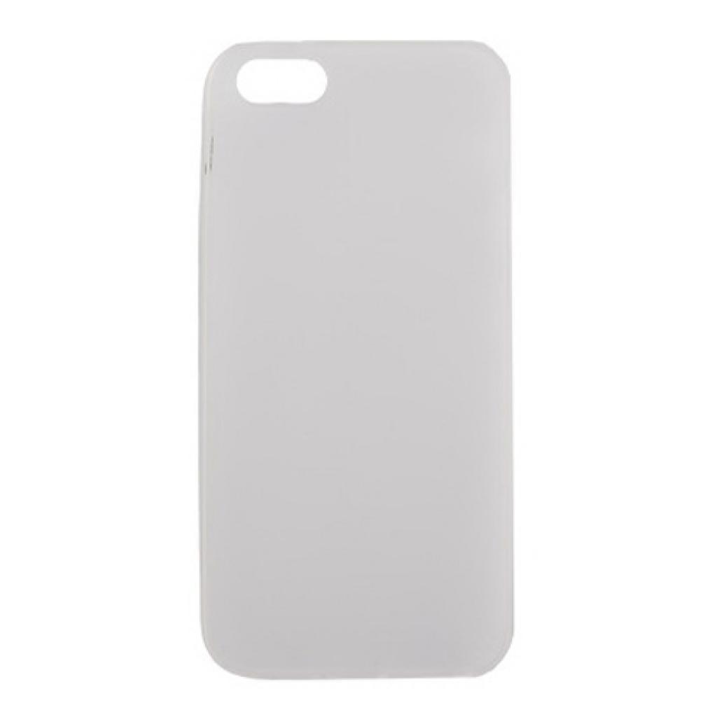 Чехол для моб. телефона Drobak для Apple Iphone 5 /ElasticPU/WhiteClear (210255)