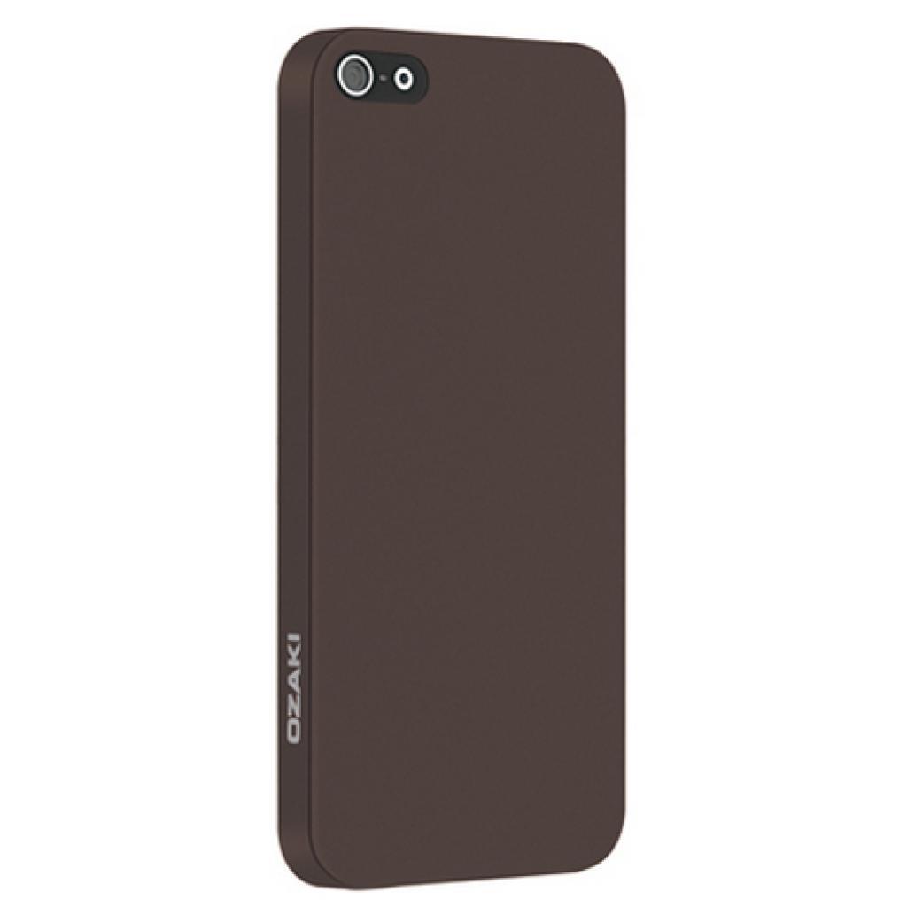 Чехол для моб. телефона OZAKI iPhone 5/5S O!coat 0.3 SOLID/Brown (OC530BR)