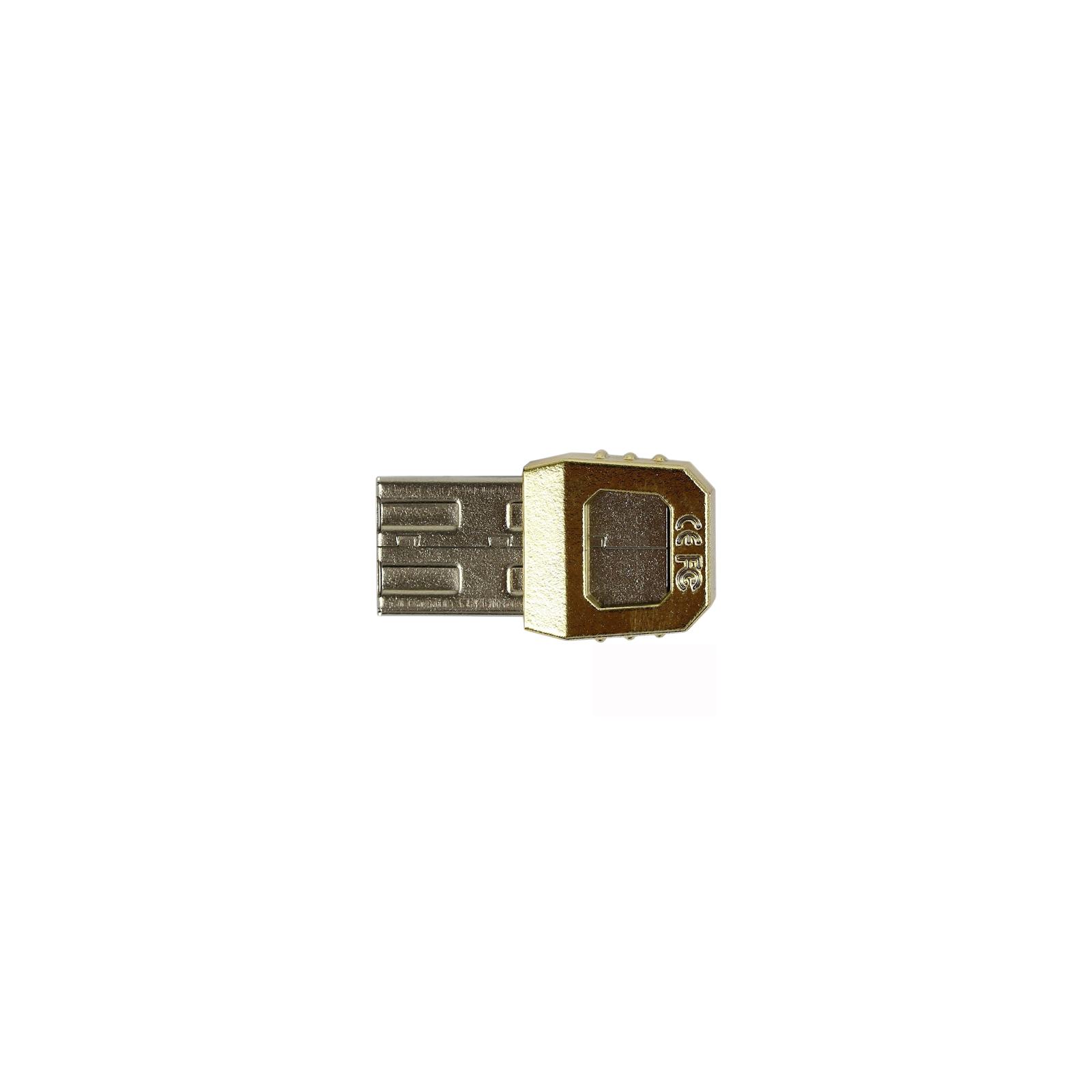 USB флеш накопитель 32GB AH152 Golden RP USB3.0 Apacer (AP32GAH152C-1) изображение 4