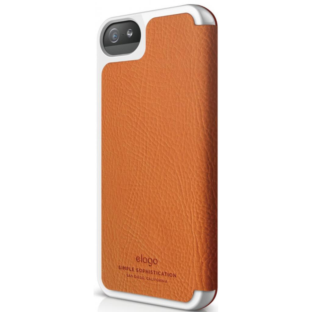 Чехол для моб. телефона ELAGO для iPhone 5 /Leather Flip/Orange (ELS5LE-OR) изображение 2