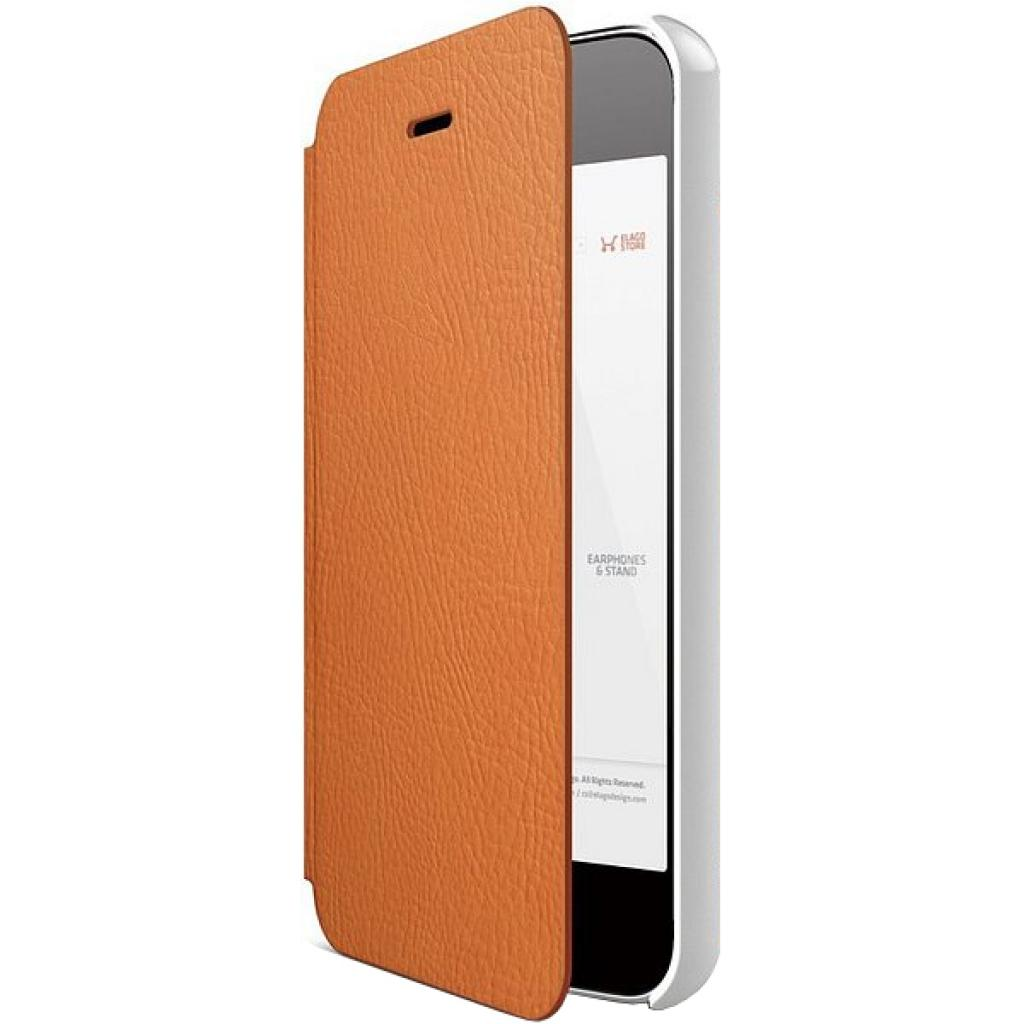 Чехол для моб. телефона ELAGO для iPhone 5 /Leather Flip/Orange (ELS5LE-OR)