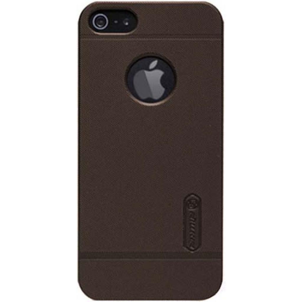 Чехол для моб. телефона NILLKIN для iPhone 5 /Super Frosted Shield/Brown (6065698)