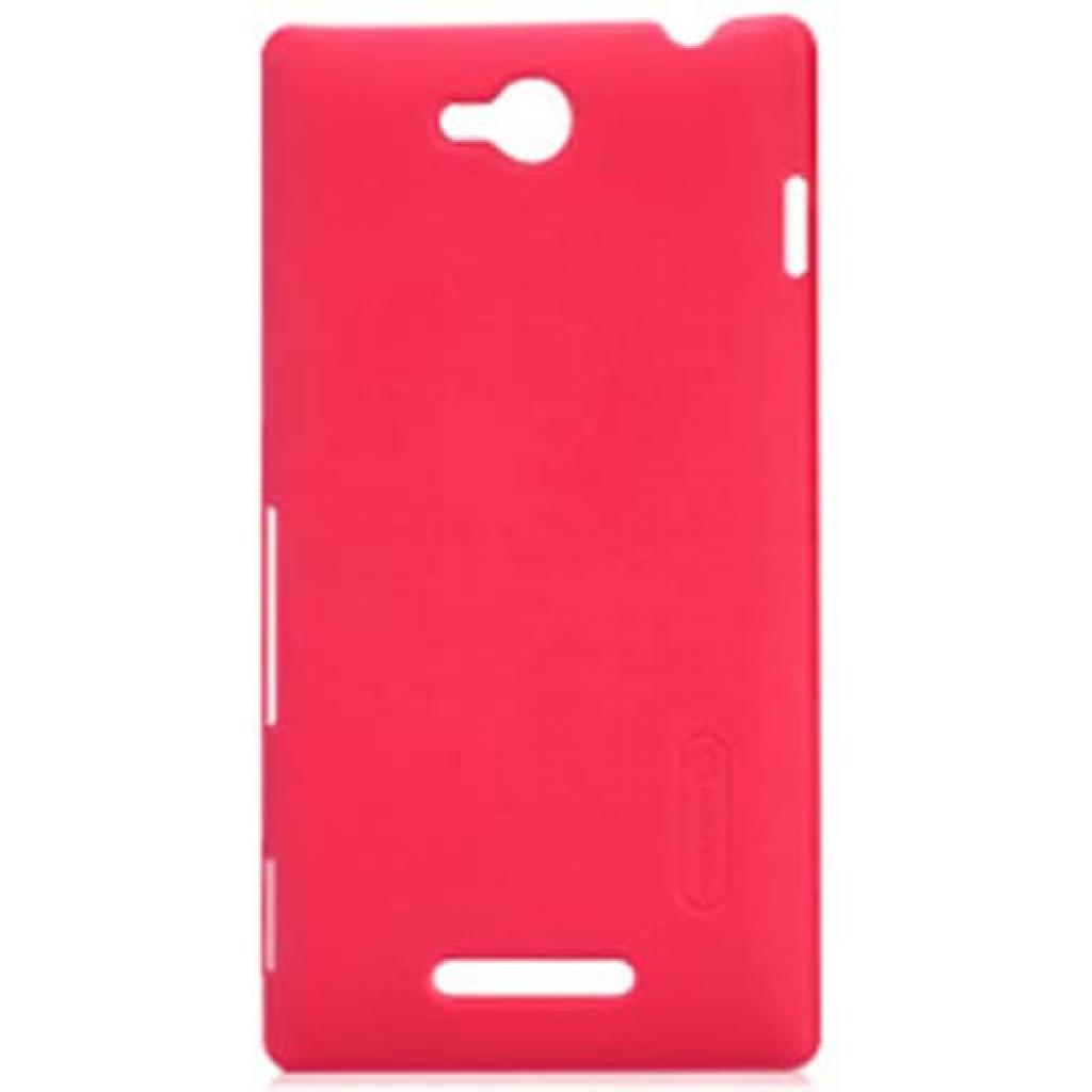 Чехол для моб. телефона NILLKIN для Sony Xperia C /Super Frosted Shield/Red (6100820)