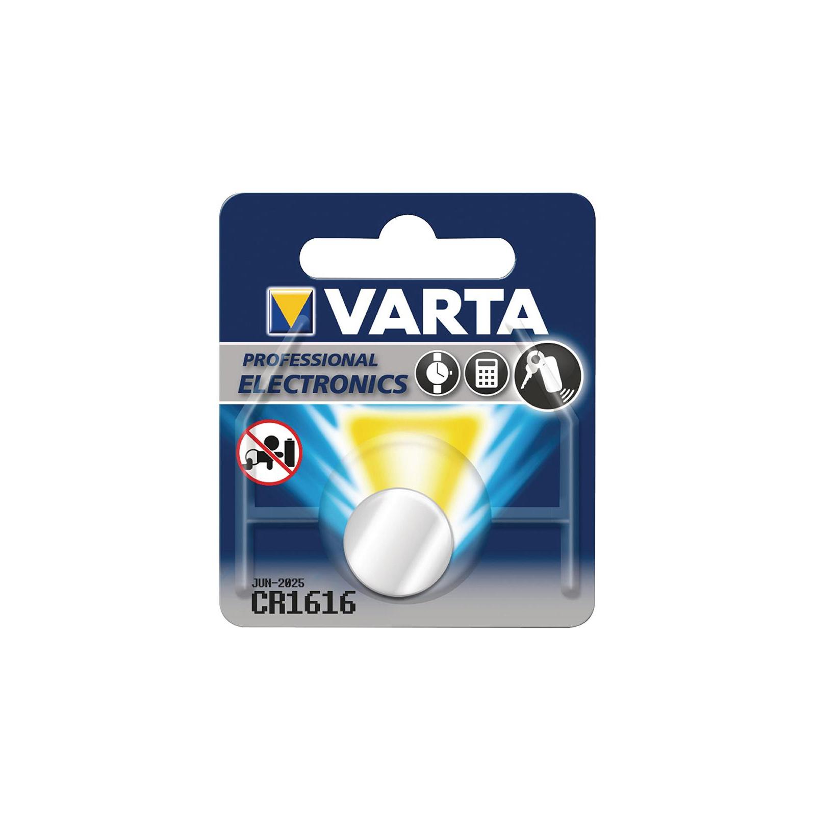 Батарейка Varta CR 1616 BLI 1 LITHIUM (06616101401)