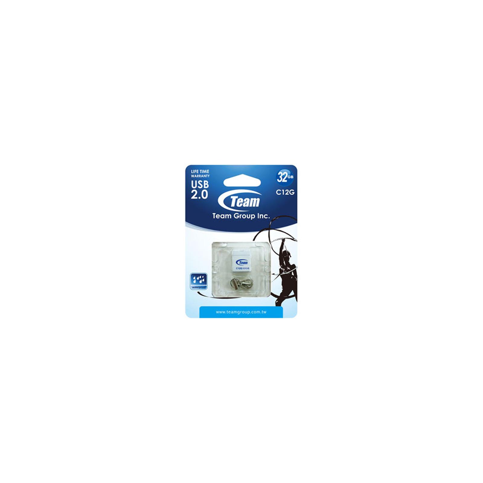 USB флеш накопитель Team 32GB C12G Black USB 2.0 (TC12G32GB01) изображение 5